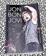 Jon BON JOVI Rockstar by Laura  Jackson BIOGRAPHY Book w Color Photos Paperback