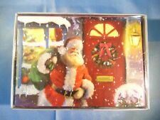 Trim A Home Glitter Holiday Christmas Cards 16 Ct With Envelopes Brand New