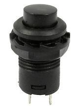 Black On/Off Latching Push Button Switch Locking Car Dashboard Dash Boat 12V