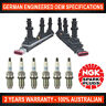 6x Genuine NGK Platinum Spark Plugs & 2x Ignition Coil for Holden Vectra ZC