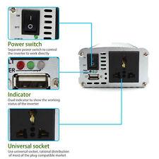 Durable 1500 W Coche USB Power Inverter 24VDC to220VAC Convertidor de onda sinusoidal modificada