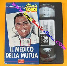 VHS film IL MEDICO DELLA MUTUA Il grande cinema Alberto Sordi FABBRI (F70)no dvd