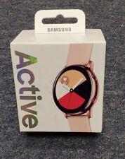 Samsung SM-R500 Galaxy Reloj activo (40mm) Bluetooth Rosa Oro Impecable