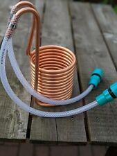 Mini 12 coil wort chiller: 2 x 50cm hose & 2 hose connectors. Brewing winemaking