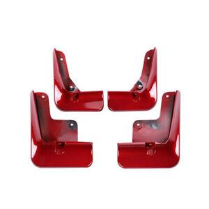 4x For Toyota Avalon 2018-2021 Car Red Side Fender Mud Flap Splash Mudguard Trim