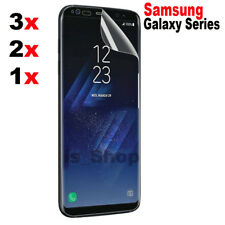 FULL Coverage Screen Protector PET Film For Samsung Galaxy S8 S8 Plus S7 S6 Edge