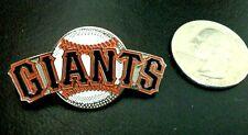 MLB SAN FRANCISCO GIANTS BASEBALL TEAM LOGO PIN BY FOTOBALL