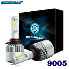 2PCS 9005 HB3 H10 9140 9145 CREE LED Headlight Kit 2000W 6000K 300000LM Bulbs