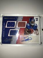 2018 NFL ABSOLUTE ROOKIE PREMIERE JERSEY AUTO SAQUON BARKLEY RC NY GIANTS /399