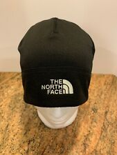 NWOT The North Face Black Tech Fleece Lined Beanie Cap Beanie One Size
