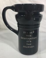 Harley-Davidson Black Coffee Tall Mug It's Not The Destination It's The Journey