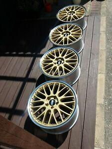 """Custom Speedline (BBS) alloy wheels 19"""" 9J et 41"""
