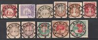 Lithuania 1920 Mi 65-75, Used