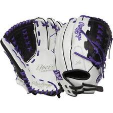 """Rawlings Liberty Advance 12.5"""" Fastpitch Softball Glove RLA12518-PU Right Throw"""