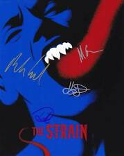 The Strain In-Person AUTHENTIC Autographed Cast Photo COA SHA #26828