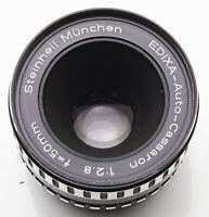 Steinheil München Edixa Auto Cassaron 1:2.8 2.8 50mm 50 - M42 Anschluss - DEFEKT