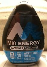 MiO Energy WICKED BLUE CITRUS Liquid Water Enhancer with Caffeine & Vitamins (1)