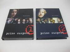 Prime Suspect 1 & 2 (DVD, 2003, 2-Disc Set) - Helen Mirren Box Set Lot