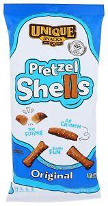 IMCOMPARABLE and DELICIOUS Original Pretzel Shells, Delicious Vegan Snack 12-Pk