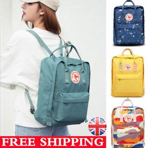 Fjallraven 20L/16L/7L Unisex Kanken Student Backpack Travel Bag School Leisure