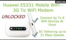 Used Huawei E5331 21 Mbps 3 G HSPA + haut débit Mobile WiFi Hotspot UNLOCKED