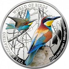 Niue 2014 1$ Bee-eater The Fascinating World of Birds 1/2 oz Proof Silver Coin