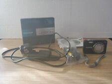 Fujifilm Finepix J150w 10MP 5x Wide Black Digital Camera
