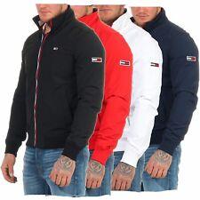 Tommy Jeans Essential Signature Zip Bomber Jacke TJM Übergangsjacke S M L XL XXL