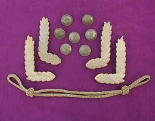 Soviet Russian Elements Navy Officer uniform. WIDE CORD, Ornament & Buttons 195x