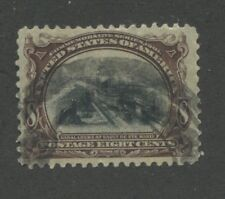1901 US Stamp #298 8c Used Very Fine Pan-American Exposition Issue