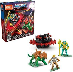 MEGA Construx Masters of the Universe Battle Cat Vs. Roton He-Man Mer-Man New