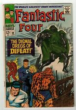 FANTASTIC FOUR #58 (VG-) DOCTOR DOOM Cover Story Appearance! 1967 Marvel