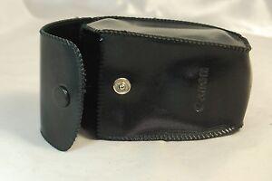 Empty case for Canon Black Leather Flash case 5321025