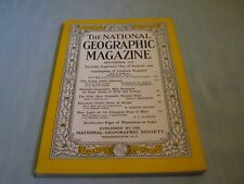 VINTAGE NATIONAL GEOGRAPHIC September 1955 INDONESIA The Kiwi CHANGING MARS FACE
