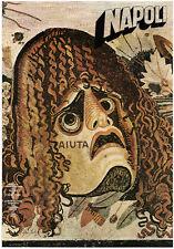 1985 Gene Federico NAPOLI: A Cultural Contribution Graphic Design POSTER series