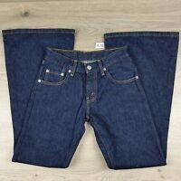 Levi 450 Womens Jeans Size 7 25/30  Low XFlare NWOT W24 L29 100% Cotton (A78)