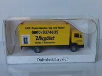 """Wiking Werbe. Daimler Chrysler 16A - MB 814 """" Vergölst Reifen - OVP - T@P"""