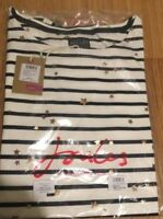Joules  HARBOUR  Jersey Top Rose Gold Star sz UK 14 16 18