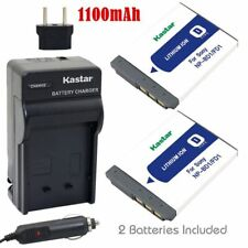 NP-BD1 Battery and Regular Charger for Sony DSC-G3 T2 T70 T75 T77 T90 T200 T300