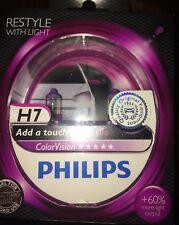 Philips H7 visión de color púrpura H7 Color Visión Philips Bombillas Púrpura