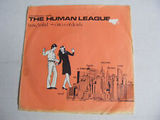 """THE HUMAN LEAGUE Being Boiled Ex Fast UK 1978 P/S 7"""""""