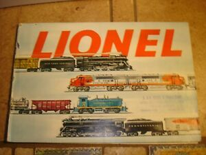 1954 LIONEL TRAINS Dealer Catalog-O27/O Scale-Model Railroad Brochure