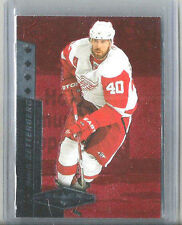 10-11 BLACK DIAMOND QUAD DIAMOND RUBY HENRIK ZETTERRBERG 012/100 RED WINGS