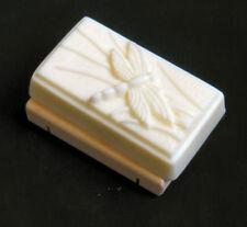 Unscented Goat's Milk Soap-Handmade Dragonfly-Rectangle Bar-Biodegradable Wrap