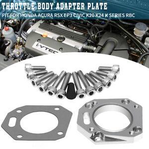 RBC Throttle Body Adapter Plate For Honda Acura RSX EP3 Civic K20 K24 K Series