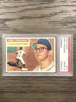 1956 Topps Earl Torgeson PSA 8 #147