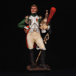 Tin Soldier, Colonel of the Dragoon Guards France, Napoleonic 54 mm
