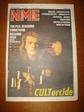 NME 1987 DEC 5 THE CULT JOHN PEEL SUZANNE VEGA JAMMS