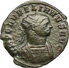 AURELIAN  274AD Authentic Ancient Roman Coin CONCORDIA Harmony  i29306
