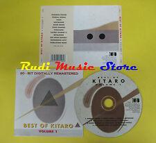 CD BEST OF KITARO VOLUME 1 compilation no lp mc dvd vhs (C12)